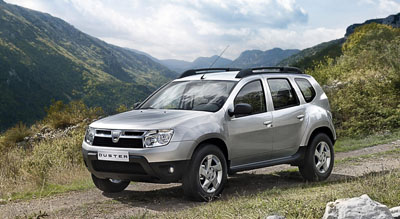 Dacia Duster World Travel Group
